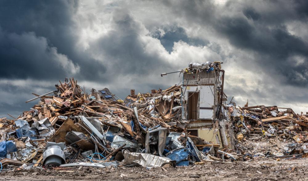 home devastated by Hurricane Laura